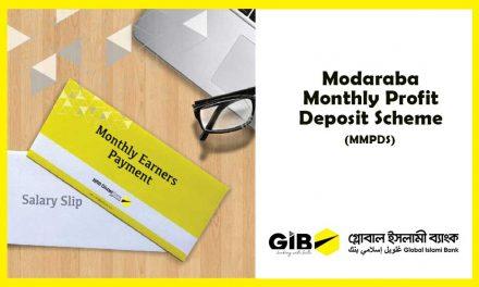 Modaraba Monthly Profit Deposit Scheme (MMPDS)