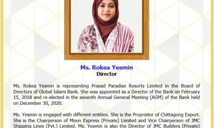 Ms. Rokea Yesmin, Director