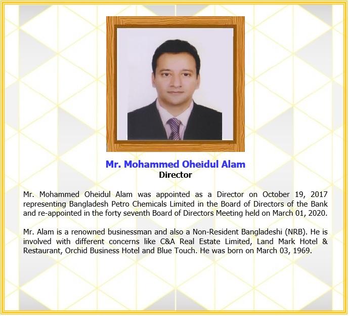 Mr. Mohammed Oheidul Alam