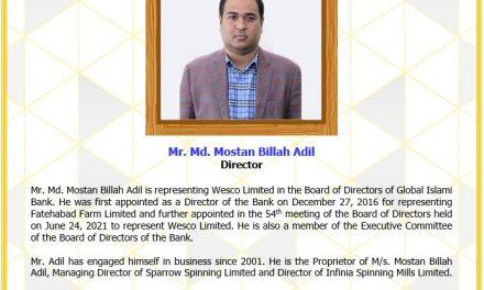 Mr. Md. Mostan Billah Adil, Director