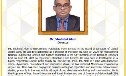 Mr. Shahidul Alam, Director
