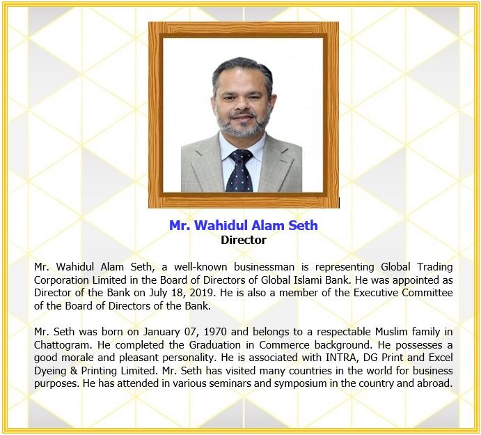Mr. Wahidul Alam Seth