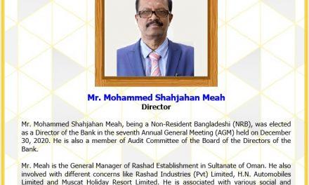 Mr. Mohammed Shahjahan Meah