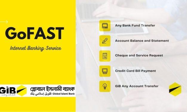 Go fast – internet banking service